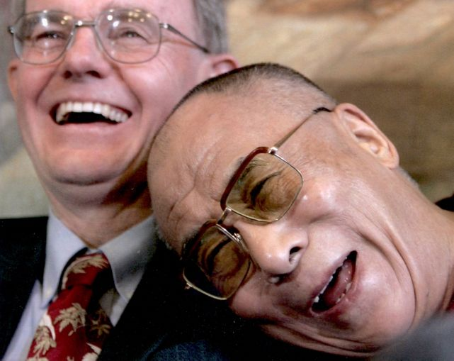 With the Dalai Lama of Tibet - A friend for more than 30 years
